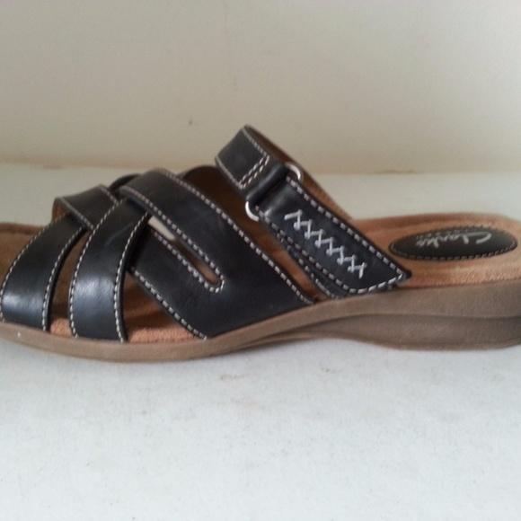 5dc5df0cb Clarks Shoes - Clarks Artisan black sandals - womens 9 M